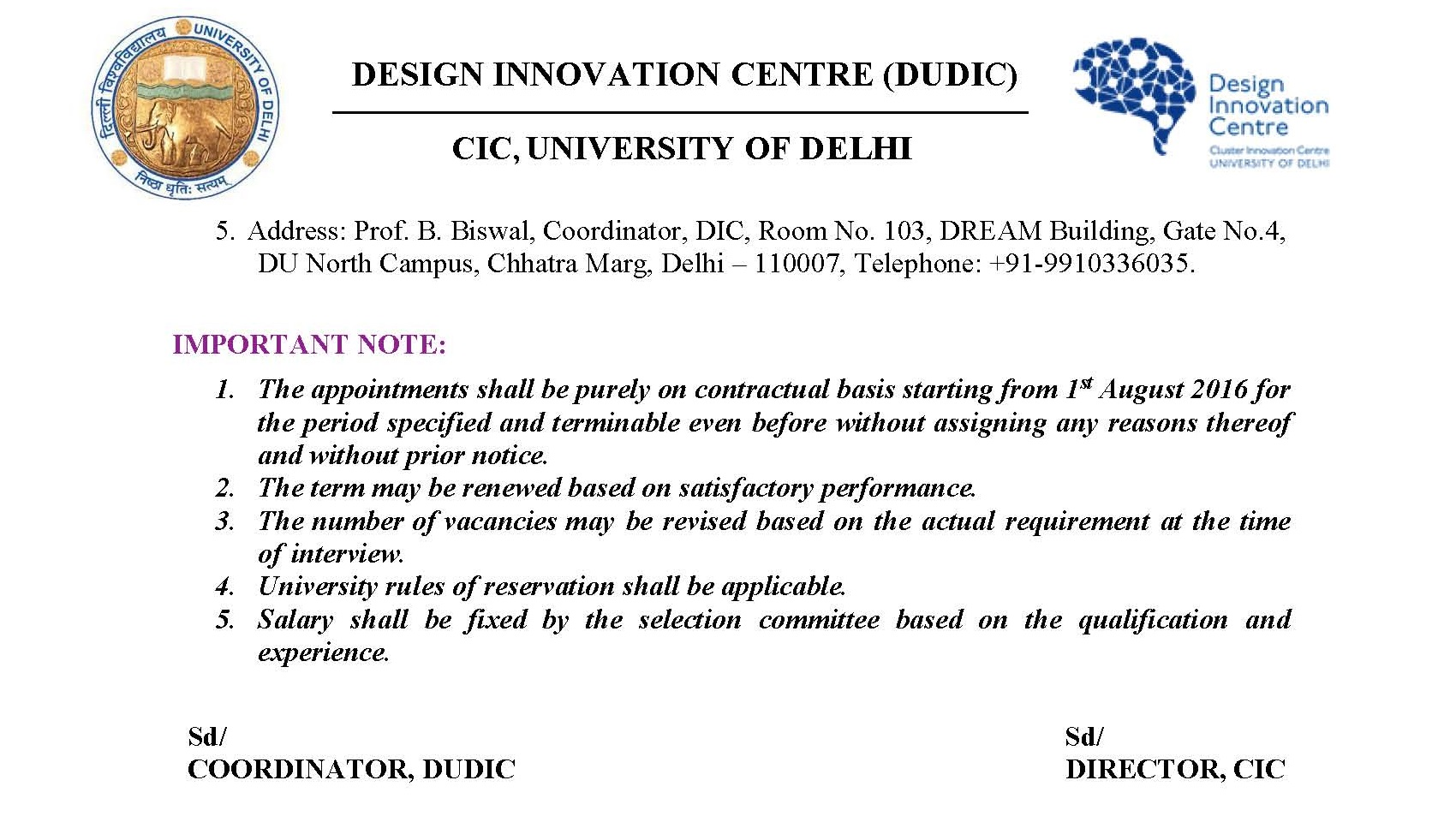 News - University of Delhi