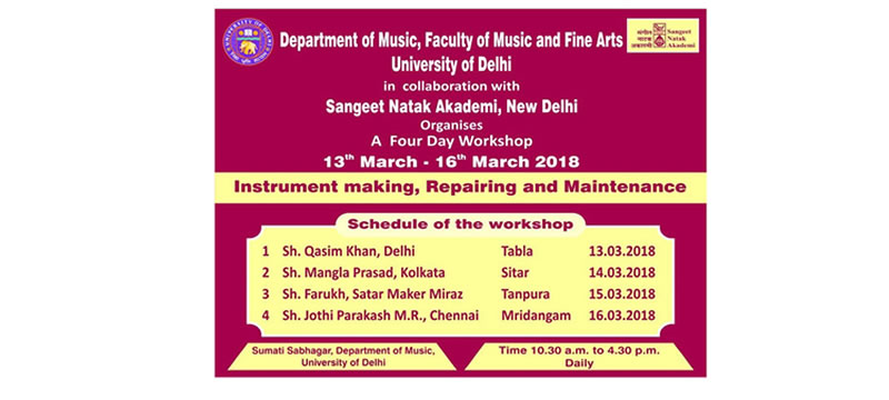 Department of Music - University of Delhi